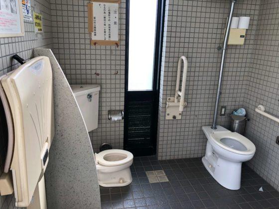 多目的トイレの中の様子