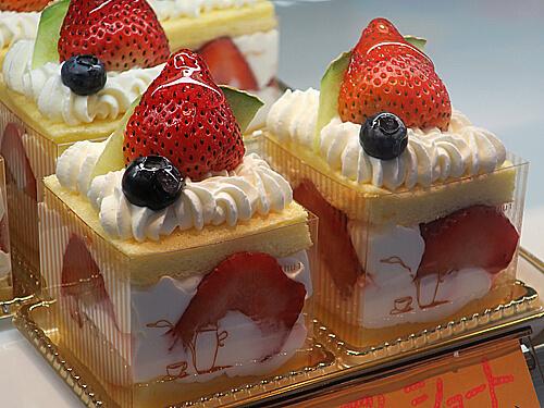 シャルロッテのショートケーキ