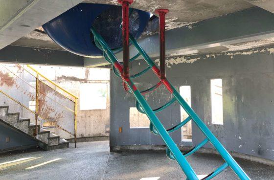 見晴らし台(トイレ)の中段部