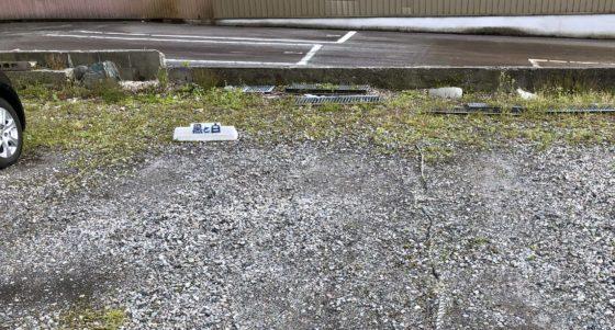 黒と白の駐車場 その②