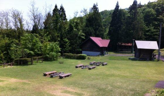 猿倉山森林公園のキャンプ場