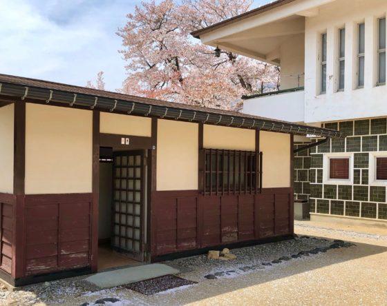 神岡城敷地内のトイレ