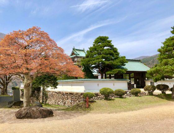 神岡城の全貌