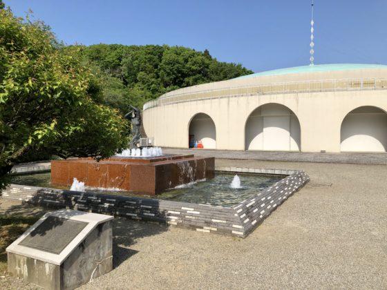 水道つつじ公園の配水池