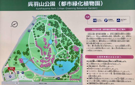 園の全体図