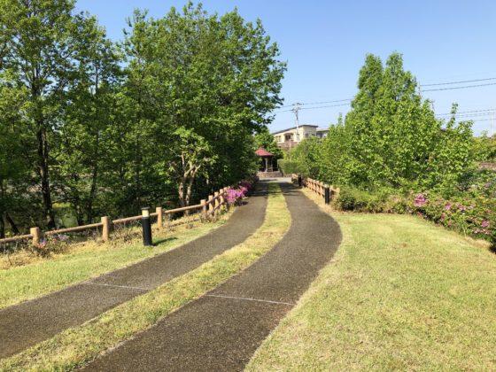 園内の通路