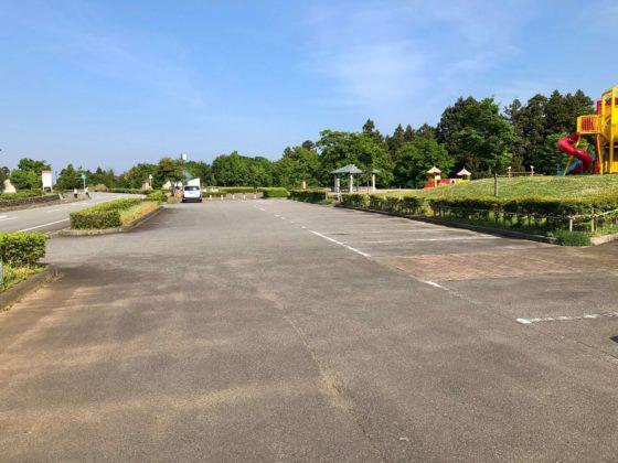 わいわいエリアの駐車場