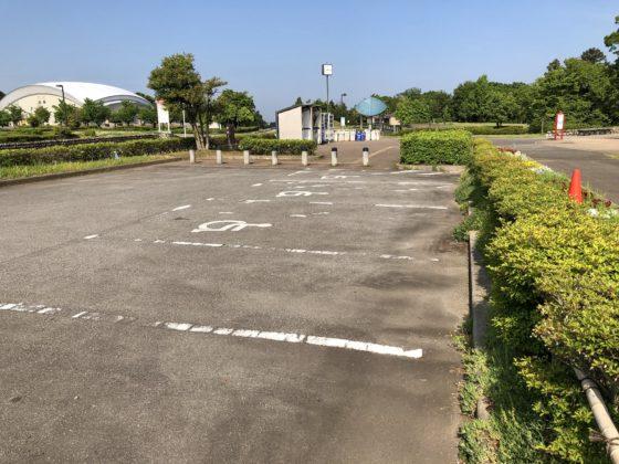 わいわいエリアの駐車場(車椅子用)