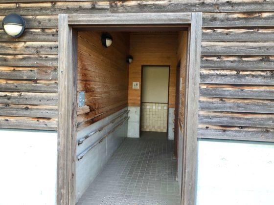 北代緑地のトイレ