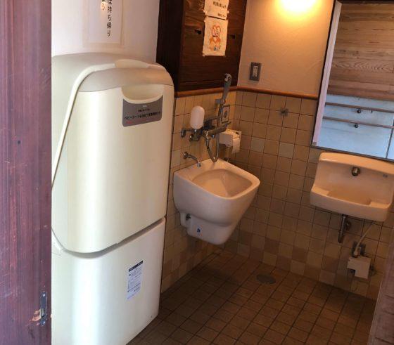 北代緑地のトイレその3