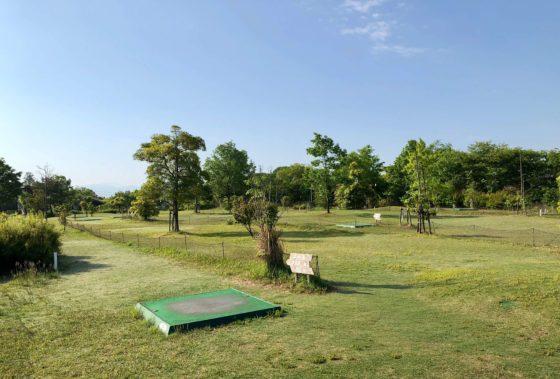 北代緑地のパークゴルフ