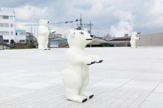 富山県美術館 屋外広場