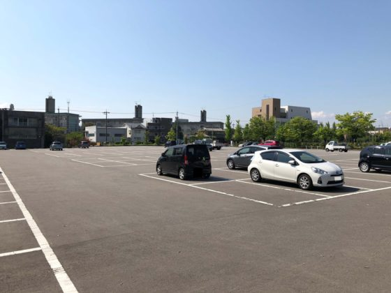 五福公園の駐車場