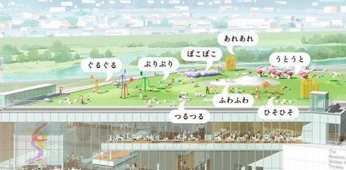 富山県美術館オノマトペの屋上全体図