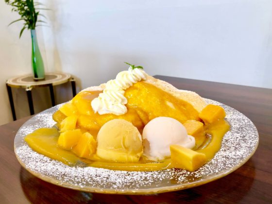 マンゴーパンケーキ